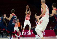 Baskonija - Crvena zvezda 87:67, Branko Lazić