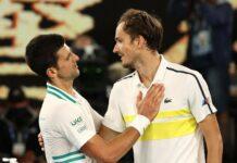 Novak Đoković i Danil Medvedev