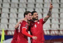 Aleksandar Mitrović i Dušan Vlahović