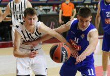 "Partizan - Budućnost 79:67, ANGT ""Marko Ivković"""