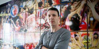Igor Žakić trener odbojkaša Crvene zvezde