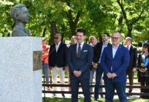 Otkriven spomenik Hugu Buliju, Marko Pantelić